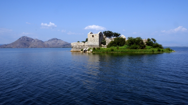 Grmozur fortification Lake Skadar